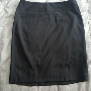 The Limited Collection Pinstripe Skirt